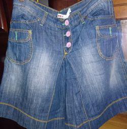 Shorts-fusta, folosit, doar pentru marca