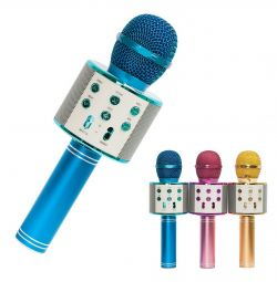 Микрофон Колонка FM-радио USB Micro-SD WS-858