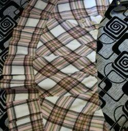 Μάλλινη φούστα για κορίτσια