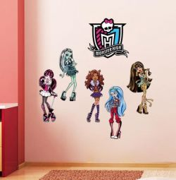 Декоративная наклейка на стену в детскую