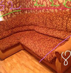 Corner sofa.