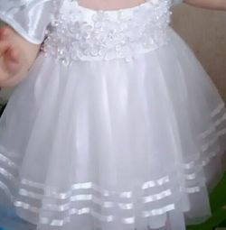 Dress size 80 white