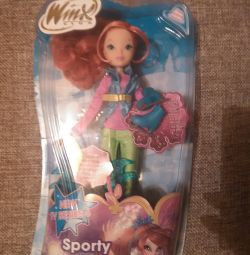 Sports chic doll