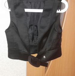 Pantaloni + vesta
