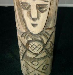 Vedik heykelciği - idol Makosh. Sedir. 10 cm