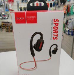 Hoco Premium es16 kablosuz kulaklıklar kırmızı
