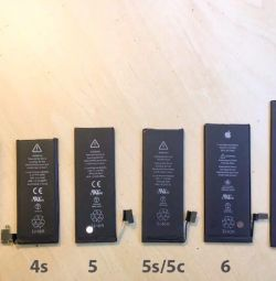 I will sell batteries for any iPhones, iPhone 4s / 5s / Se