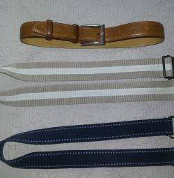 Belts in stock