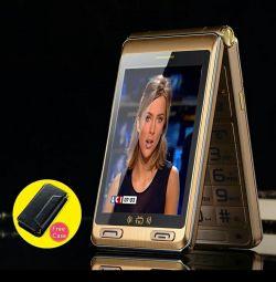 Телефон с телевизором THEKUN