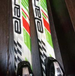 Skiing children 130 cm
