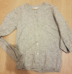 School sweater-cardigan