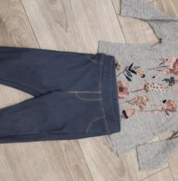 Jeegins and jacket Zara