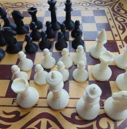 Шашки, шахи, нарди