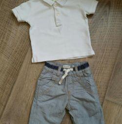 Tricou și pantaloni
