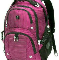 Orijinal swisswin sw9217-fuşya sırt çantası