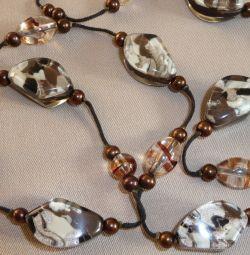Murano γυάλινες χάντρες
