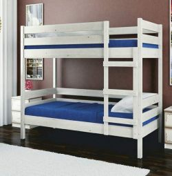 Bunk beds at wholesale prices in the Crimea.