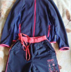 Jachetă din fleece, pantaloni pe fleece