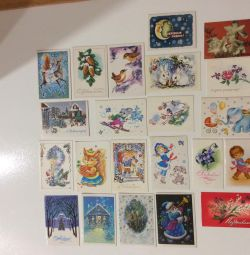 Cărți poștale și mini-carduri ale URSS