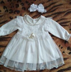 Küçük prenses için elbise