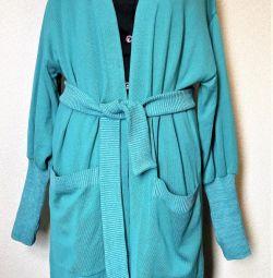 Smarald-mint cardigan 50-52-54