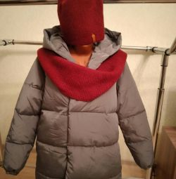 Το σακάκι είναι χειμώνας. Το κάτω μπουφάν είναι καινούργιο.