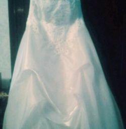 Wedding dress 50-56 size