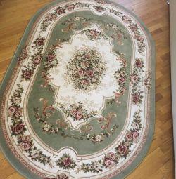 Carpet oval wool 100%