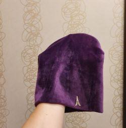 Şapka kadife