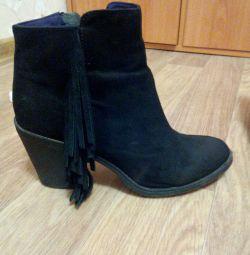 Bölünmüş Ayak Bileği Boots