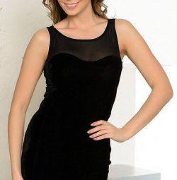 Βελούδινο φόρεμα ΝΕΟ
