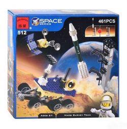 Σχεδιαστής Brick διαφωτίσει Space Series