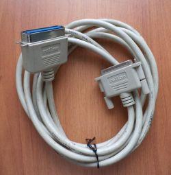 Кабель принтерный Roline LPT 3 м.