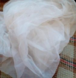 Pieces of organza