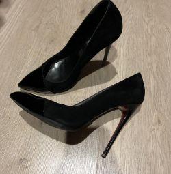 Doğal süet ayakkabı