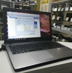 Шустрый ноутбук Asus с видеокартой он NVIDIA