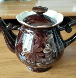 Teapot ceramic of the USSR