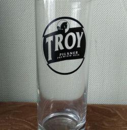 İmza Troy pilsner bira bardağı
