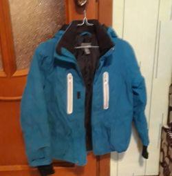 Куртка р. 140 см.