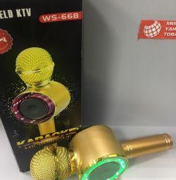 Microfon WS668 Gold