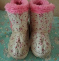Cizme de iarnă talpă 18 cm