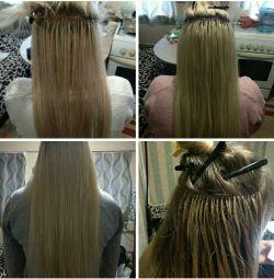 Extensia părului