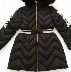 Elegant quilted jacket for girls (new)