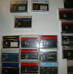 κασέτες για βιντεοκάμερες mini dv 60-90min