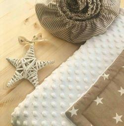 Набор одеяло-конверт и простынь