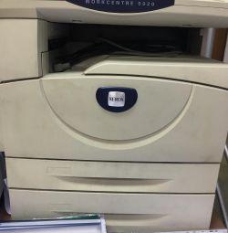 Xerox iş merkezi 5020 yazıcı