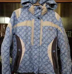 Jacket from a ski suit.