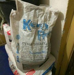 Dry backfill