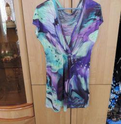 Три блузки, туника для лета