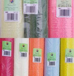 Crepe κυματοειδές χαρτί 140g χονδρικής / λιανικής πώλησης